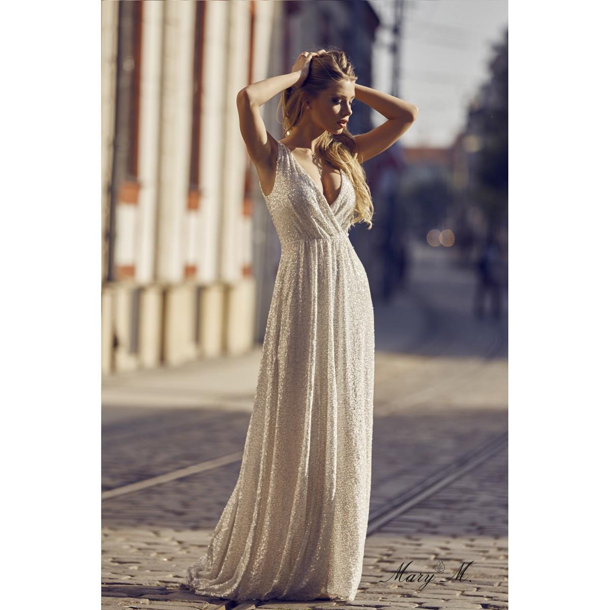 99889dbfda8 Pidulik sädelev kleit valge