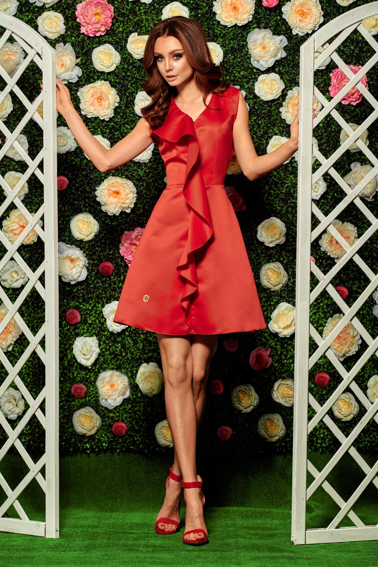 f79458f288c Volangiga kleit (erinevad värvid) LL259   Kleidid   Pidulikud ...