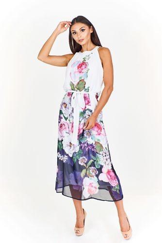 õhuline lilleline kleit