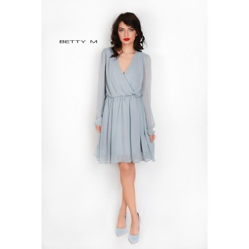 Õhuline hall kleit