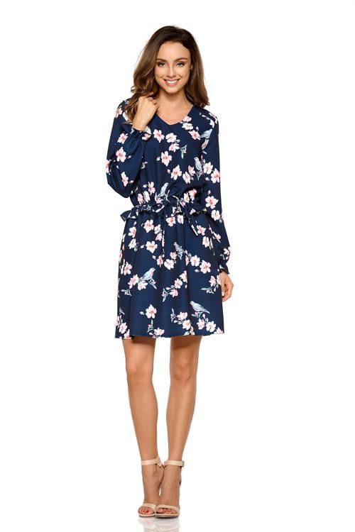 Väikese satsiga kleit