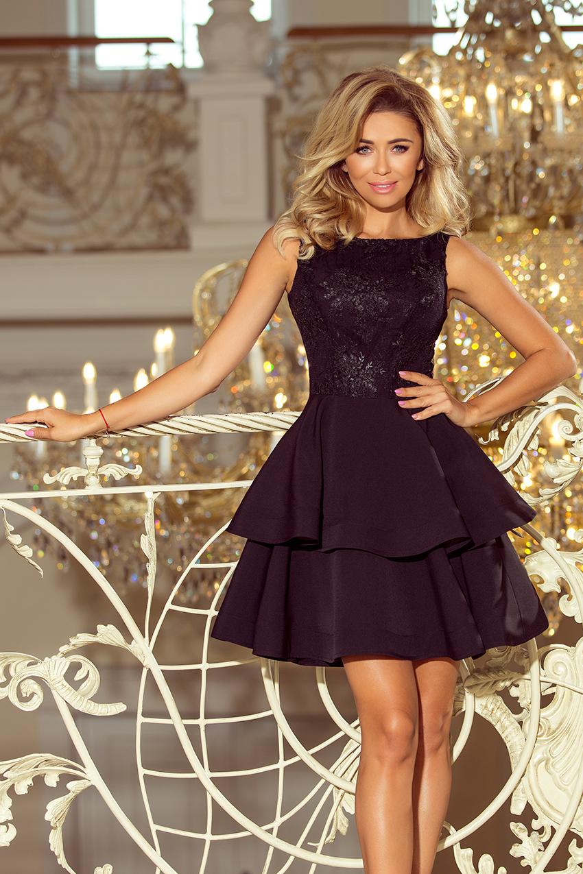 36df2a8610c Must pidulik kleit pitsiga N8206-2 | Kleidid | Pidulikud kleidid ...