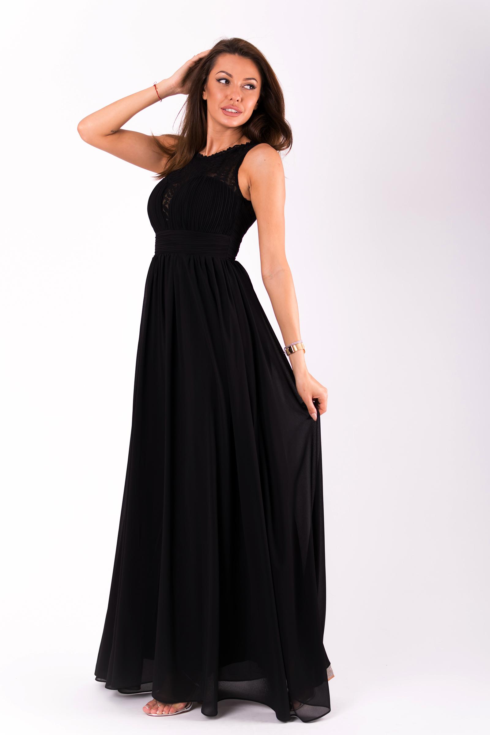 b4dfc75b458 Must maksikleit L0545 | Kleidid | Pidulikud kleidid | Maksikleidid ...
