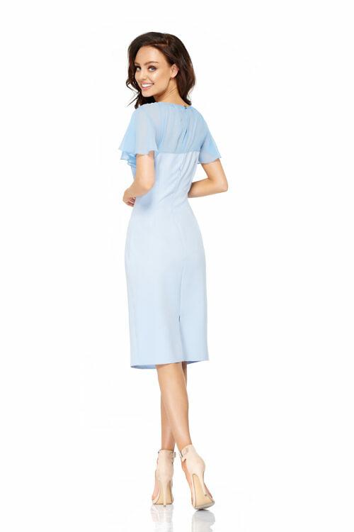 Sifoon-varrukatega kleit