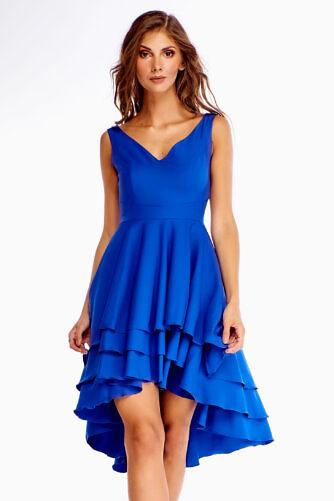 Kihiline kleit sinine