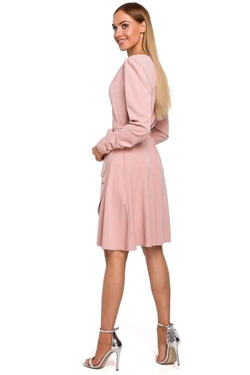 Hõlmik-kleit vanaroosa