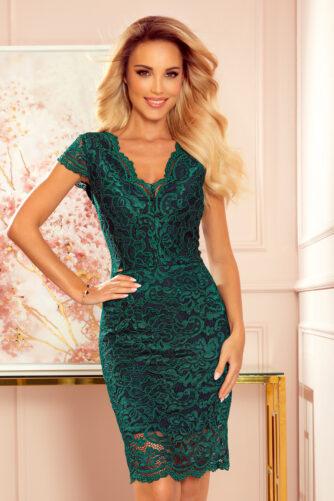 Pitsist kleit roheline