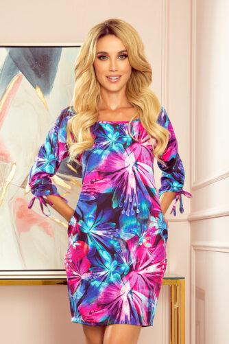 Mugav oversized kleit värviline