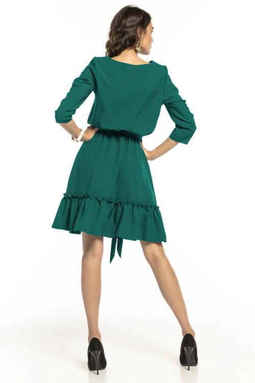 Satsiga kleit tumeroheline